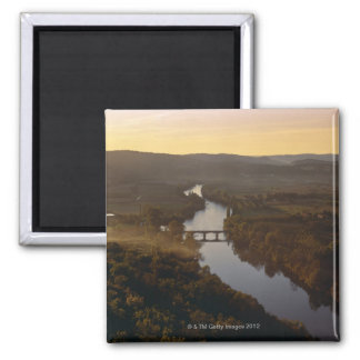 Aquitaine, Dordogne, Europe, France, River Refrigerator Magnets