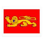 Aquitaine flag post cards
