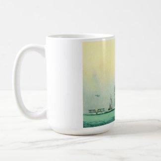 AQUITANIA CUNARD WHITE STAR LINE SHIP mug