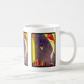 Aquitania Departing Classic White Coffee Mug