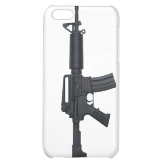 AR15 assault rifle iPhone 5C Covers