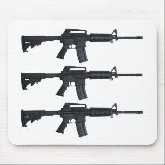 AR15 assault rifle Mouse Pad