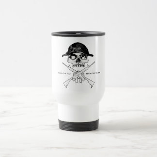 AR15 Cross Bones Travel Mug