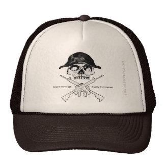 AR15 Cross Bones Trucker Hat