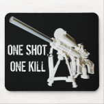 AR15 Mouse Pad- One shot, one kill Mouse Pad