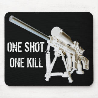 AR15 Mouse Pad- One shot, one kill