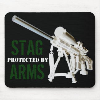 AR15 Mouse Pad- Protected by STAG ARMS Mouse Pad