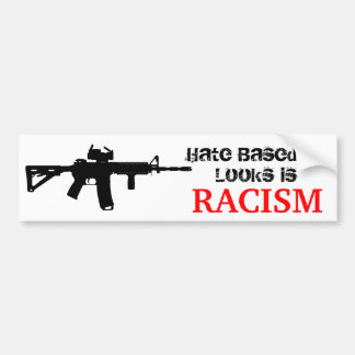 Ar15 Racism Sticker