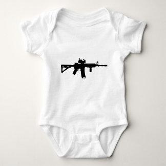 ar-15 baby bodysuit