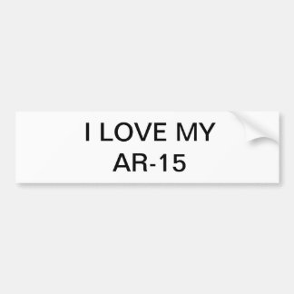ar 15 bumper sticker