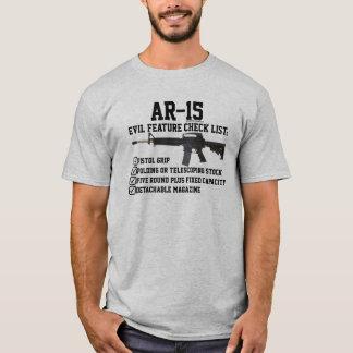 AR-15 - Certified Evil Checklist II T-Shirt
