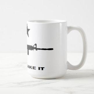 AR 15, Come and Take It Mug