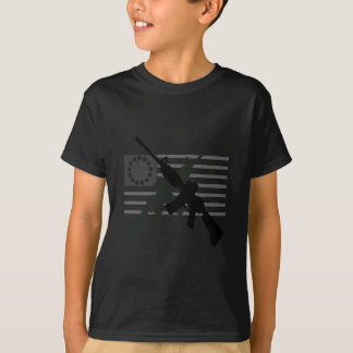 AR-15 Crossed Revolutionary Flag T-Shirt