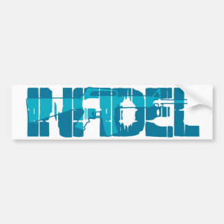 AR-15 INFIDEL Gun Rights Pro American Bumper Sticker