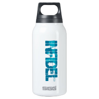 AR-15 INFIDEL Gun Rights Pro American 10 Oz Insulated SIGG Thermos Water Bottle