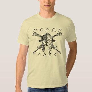 AR-15 Molon Labe Spartan Tshirt