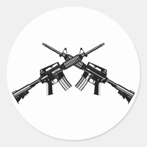 AR-15 ROUND STICKERS