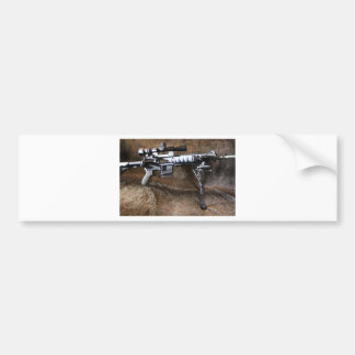 AR-15 Tactical Bumper Sticker