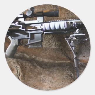 AR-15 Tactical Classic Round Sticker