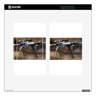 AR-15 Tactical Kindle Fire Decal