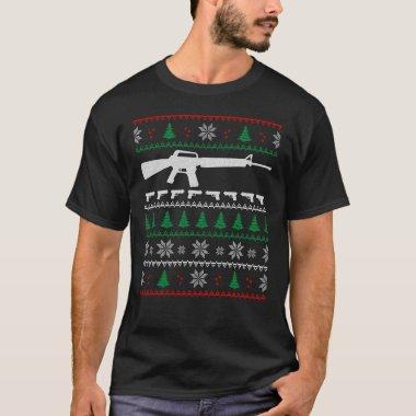 Ar 15 Ugly Sweater Christmas