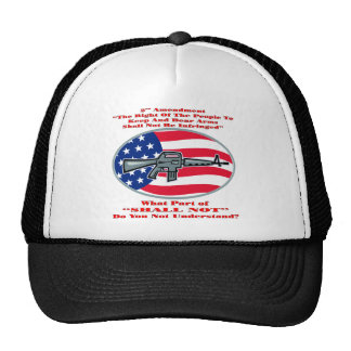AR-15 What Part Of Shall Not Don't You Understand Trucker Hat