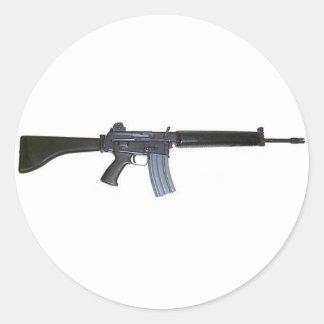 AR-18 CLASSIC ROUND STICKER