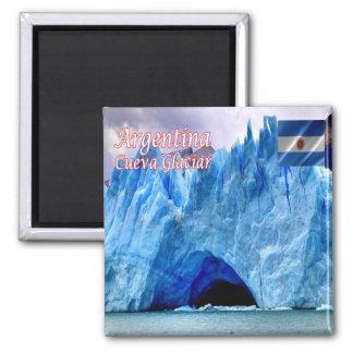 AR-Argentina Santa Cruz Cave Perito Moreno Glacier Magnet