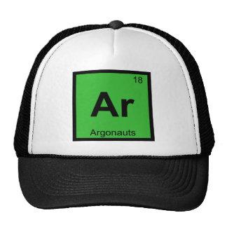 Ar - Argonauts Greek Chemistry Periodic Table Trucker Hat