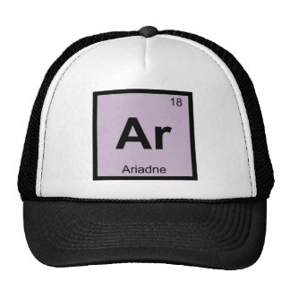 Ar - Ariadne Greek Chemistry Periodic Table Symbol Hat