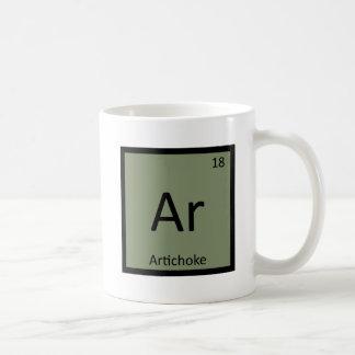 Ar - Artichoke Vegetable Chemistry Periodic Table Coffee Mug