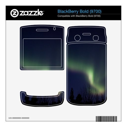 AR Aurora Reaching BlackBerry Bold 9700 Skin