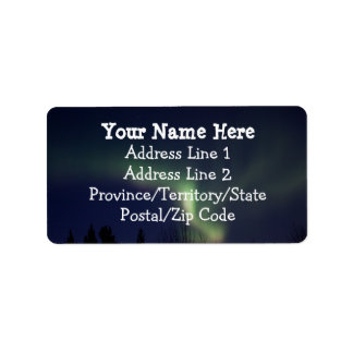 AR Aurora Reaching Label