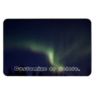 AR Aurora Reaching Rectangular Photo Magnet