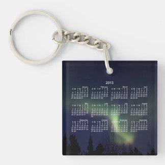 AR Aurora Reaching Single-Sided Square Acrylic Keychain