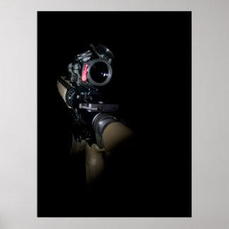 AR en la oscuridad Póster