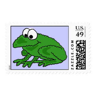 AR- Funky Frog Postage Stamps