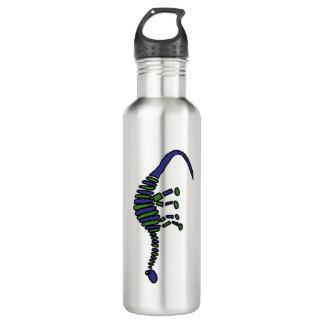 AR- Funny Brontosaurus Dinosaur 24oz Water Bottle