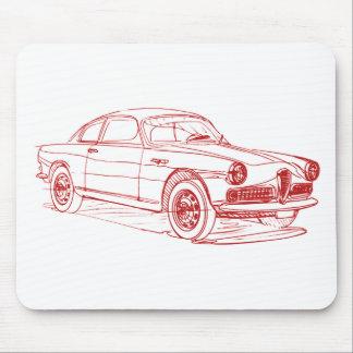 AR Giulietta Sprint 1961 Mouse Pad