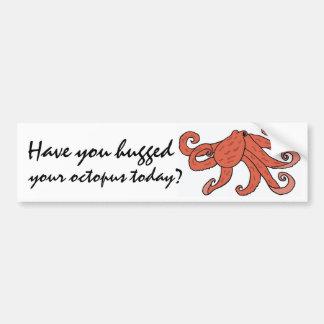 AR- Hugging Octopus Bumper Sticker
