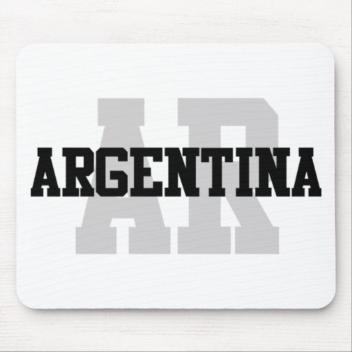 AR la Argentina Alfombrillas De Raton