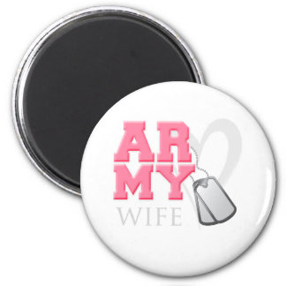 AR-MY Wife 2 Inch Round Magnet