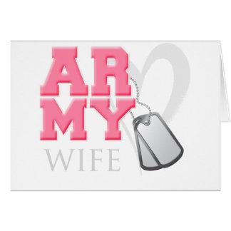 AR-MY Wife Card