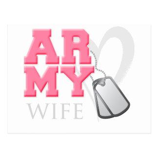 AR-MY Wife Postcard
