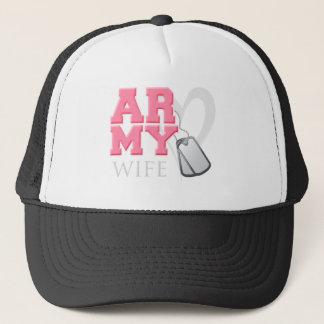AR-MY Wife Trucker Hat