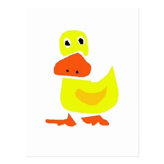 AR- Primitive Duck Design Postcard