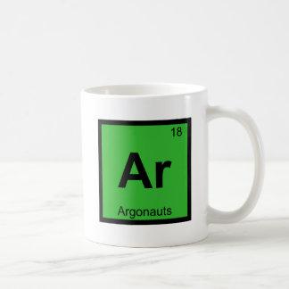 AR - Tabla periódica de la química griega de los Taza De Café