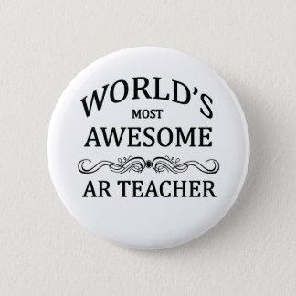 AR Teacher Pinback Button