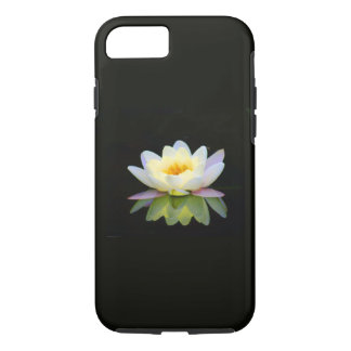 ARA ARTIST iPhone 7 case - WHITE LOTUS ON BLACK