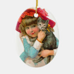 ARA HOME DECOR HANGING ORNAMENTS CERAMIC OVAL ORNAMENT